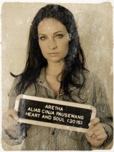 Die No.1 Blues Brothers Show mit Aretha alias Cinja Pausewang